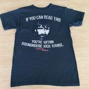 Chuck Norris Short Sleeve T-Shirt Savvy Brand